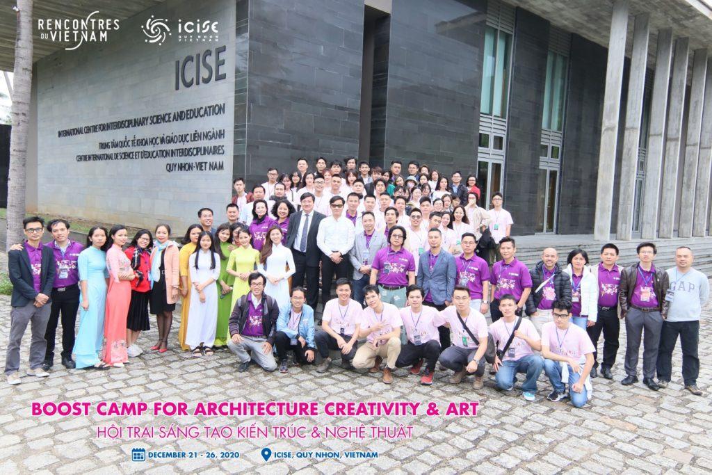 Hội trại 'Sáng tạo Kiến trúc và Nghệ thuật' lần đầu tiên tổ chức tại Bình Định
